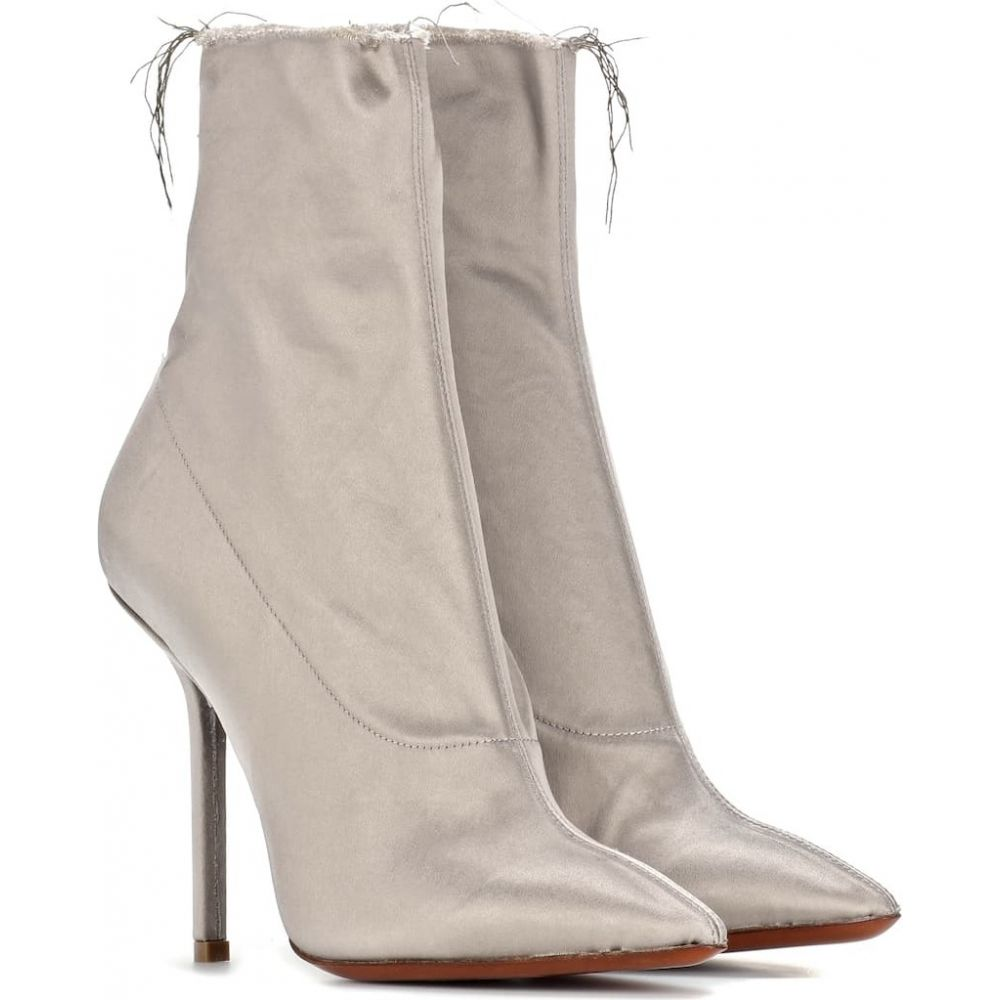 ヴェトモン Vetements レディース ブーツ ショートブーツ シューズ・靴【satin ankle boots】Taupe