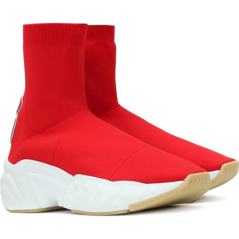 アクネ ストゥディオズ Acne Studios レディース スニーカー シューズ・靴【sock sneakers】Red/Red