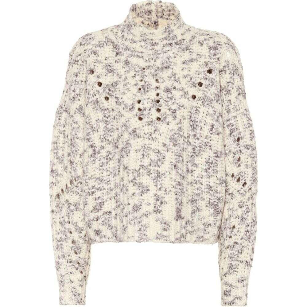 イザベル マラン Isabel Marant レディース ニット・セーター トップス【jilly high neck wool sweater】Ecru