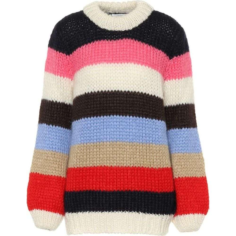 ガニー Ganni レディース ニット・セーター トップス【the julliard mohair-blend sweater】multicolour