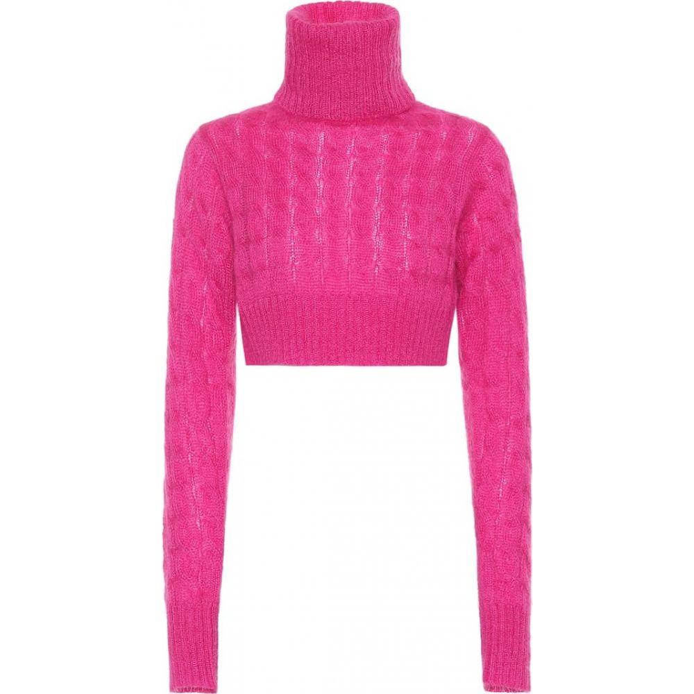 マシュー アダムズ ドーラン Matthew Adams Dolan レディース ニット・セーター トップス【mohair-blend turtleneck sweater】pink