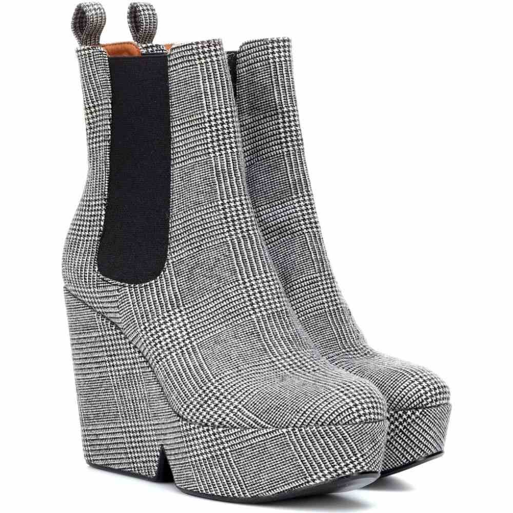 ロベール クレジュリー Clergerie レディース ブーツ ショートブーツ シューズ・靴【beatrice checked ankle boots】Galles
