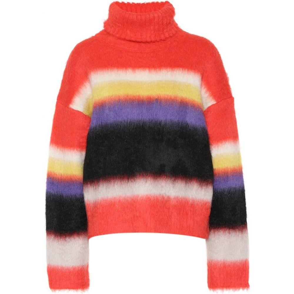 ダイアン フォン ファステンバーグ Diane von Furstenberg レディース ニット・セーター トップス【mohair and alpaca sweater】Coral Red Multi