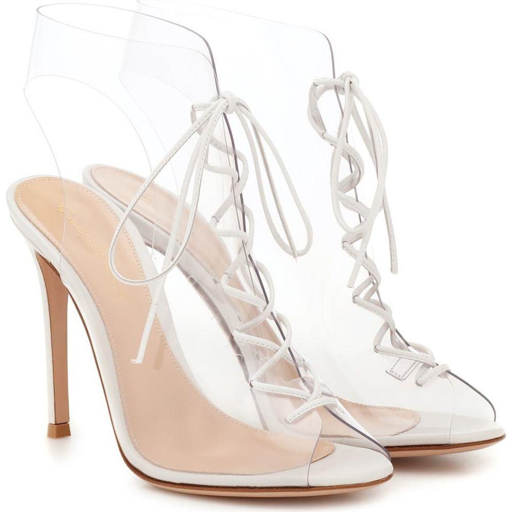ジャンヴィト ロッシ Gianvito Rossi レディース ブーツ ショートブーツ シューズ・靴【helmut ankle boots】White Transparent