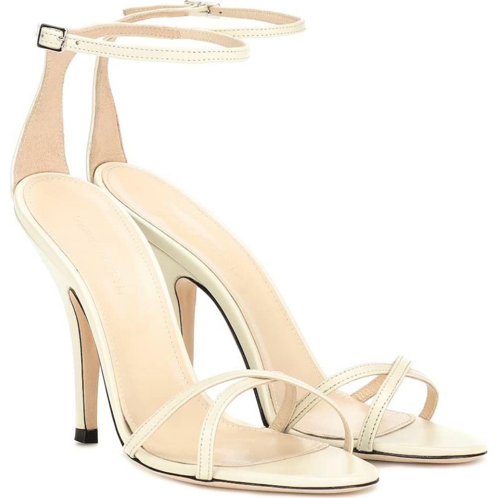 マグダ ブトリム Magda Butrym レディース サンダル・ミュール シューズ・靴【ireland leather sandals】Cream