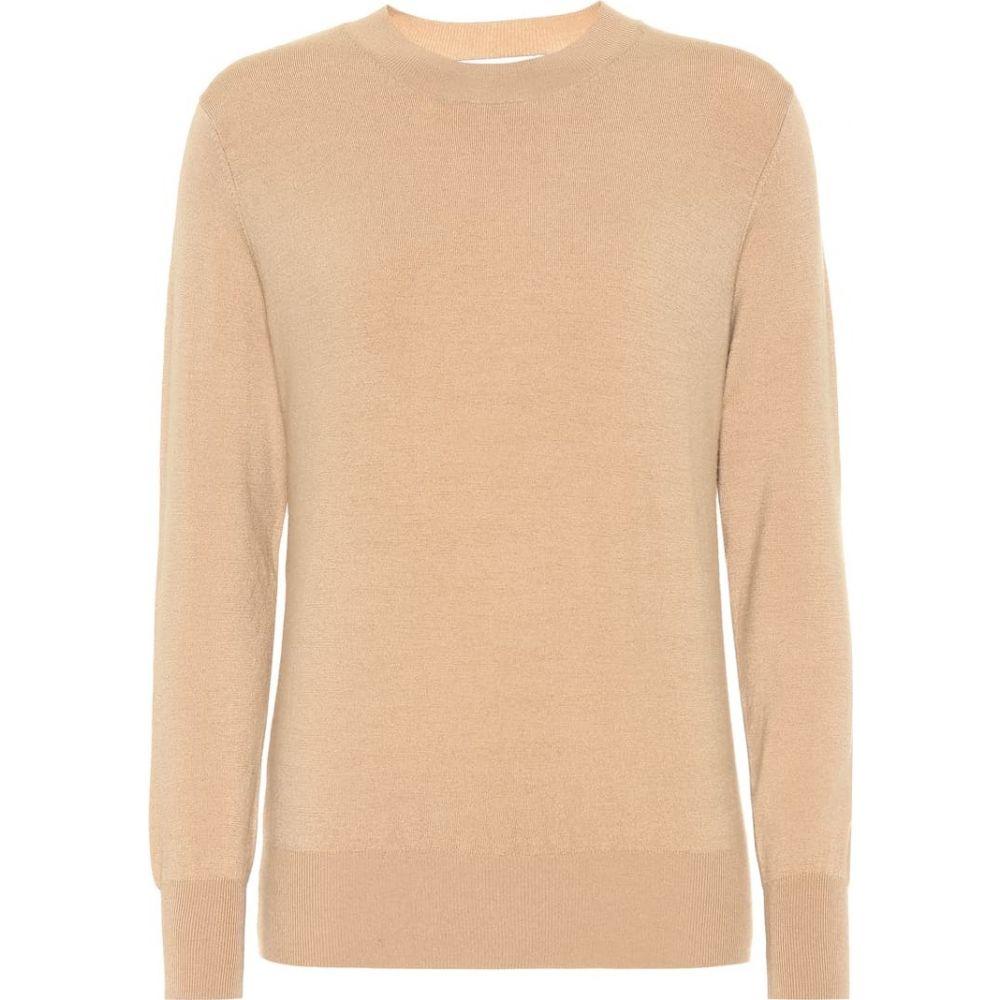 ライアンロッシュ Ryan Roche レディース ニット・セーター トップス【cashmere sweater】Camel