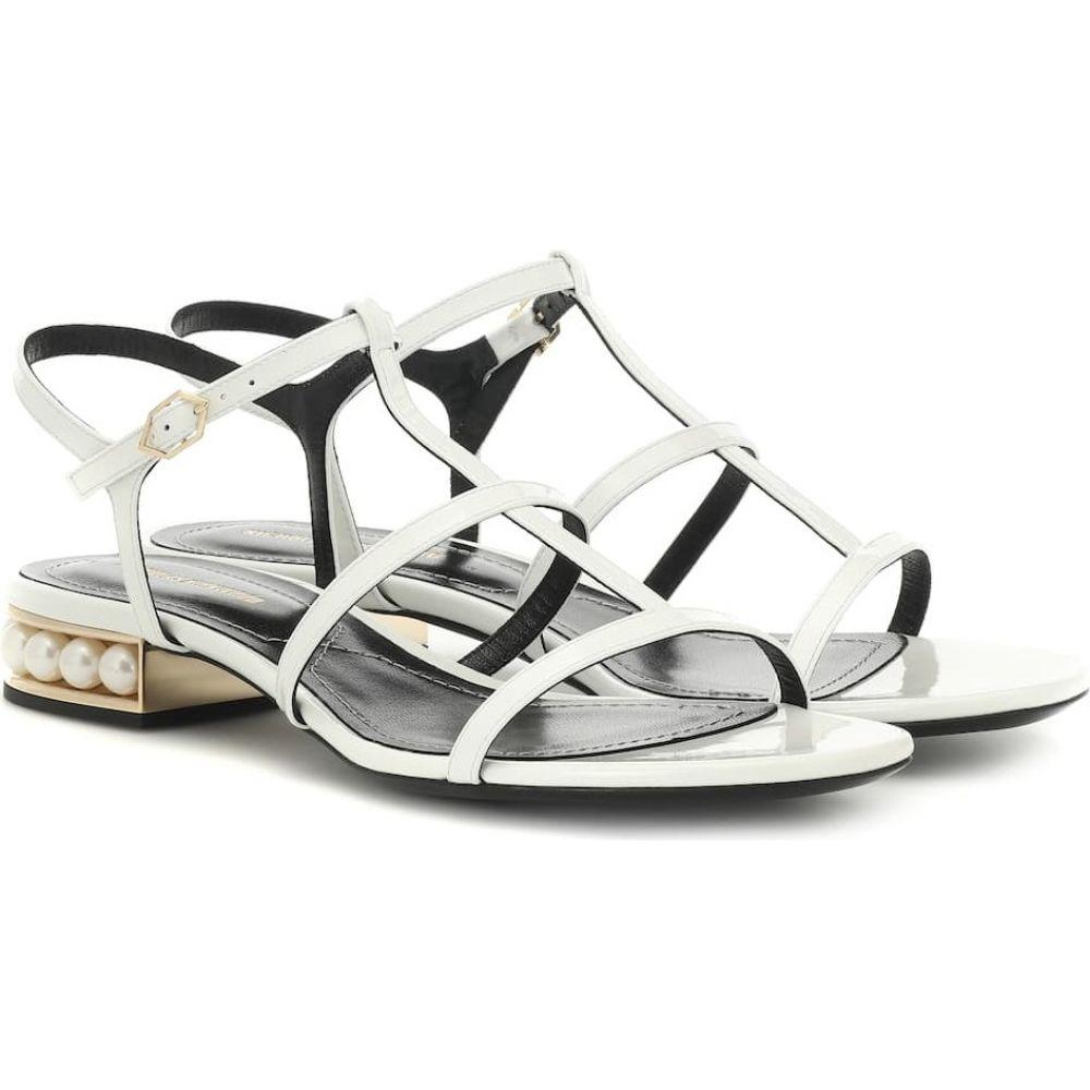 ニコラス カークウッド Nicholas Kirkwood レディース サンダル・ミュール シューズ・靴【casati leather sandals】White