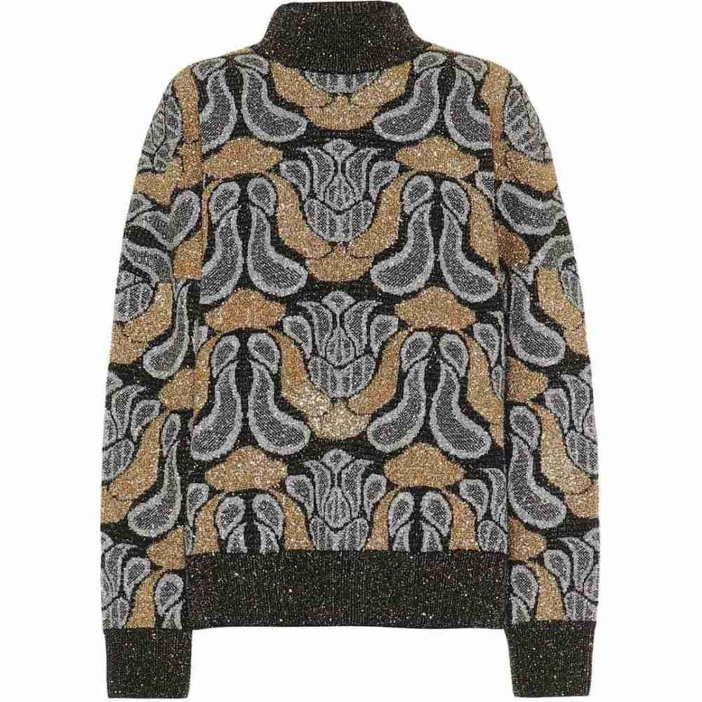 ドリス ヴァン ノッテン Dries Van Noten レディース ニット・セーター トップス【intarsia wool sweater】Black
