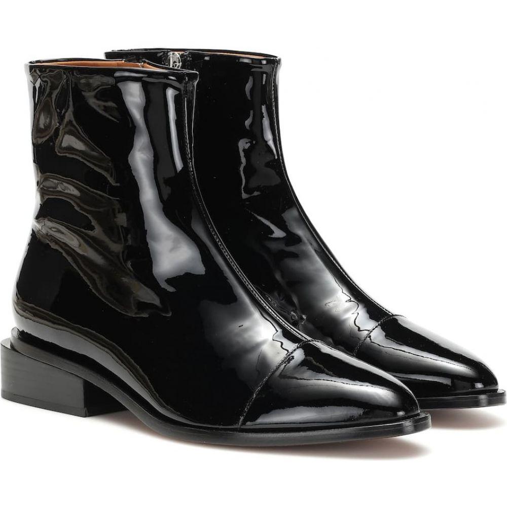 ロベール クレジュリー Clergerie レディース ブーツ ショートブーツ シューズ・靴【xaviere patent leather ankle boots】Black