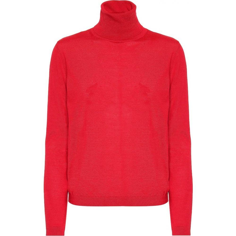 レッド ヴァレンティノ REDValentino レディース ニット・セーター トップス【wool, silk and cashmere sweater】Lacca