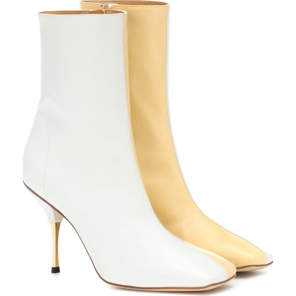 ペーター ペトロフ Petar Petrov レディース ブーツ ショートブーツ シューズ・靴【svea leather ankle boots】Beige/White