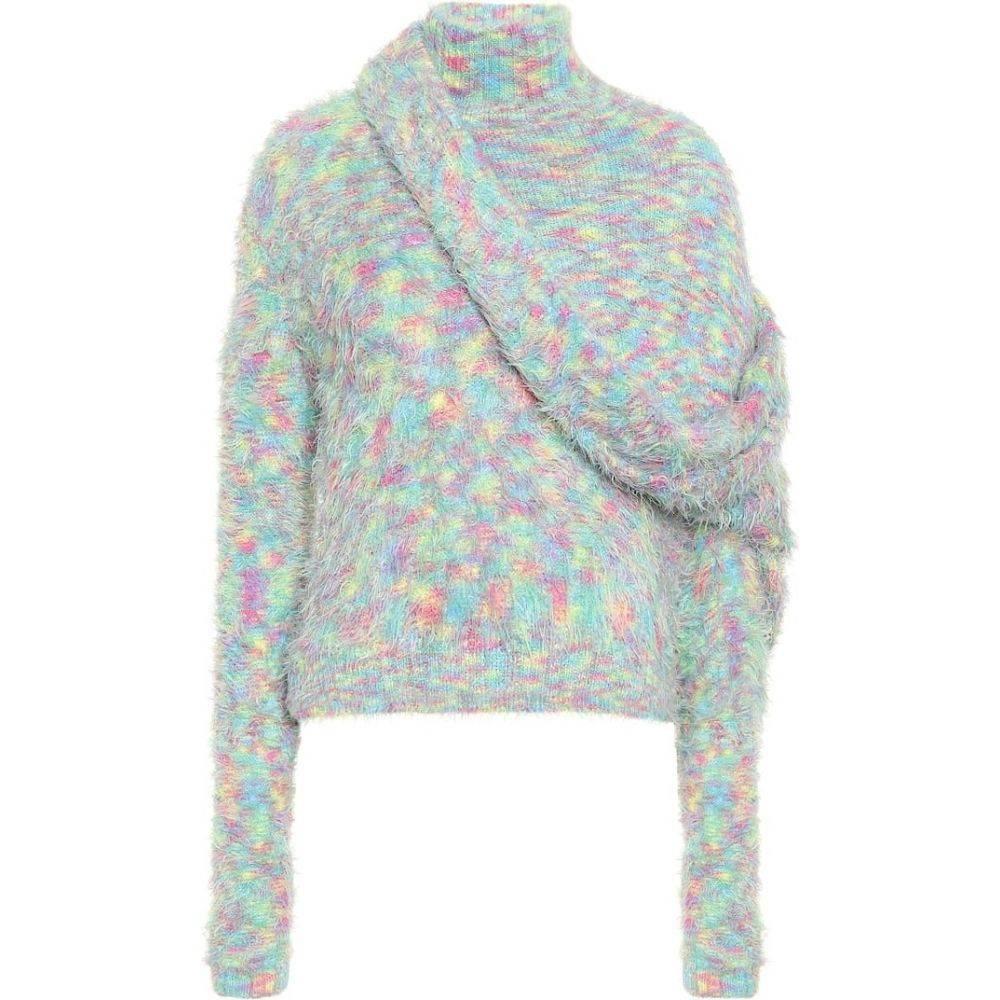 ワイプロジェクト Y/PROJECT レディース ニット・セーター トップス【asymmetric turtleneck sweater】Multicolor
