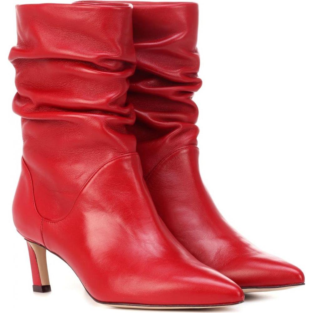 スチュアート ワイツマン Stuart Weitzman レディース ブーツ ショートブーツ シューズ 靴 demibenatar leather ankle boots CRIMSON 成人の日 卒業祝 税込