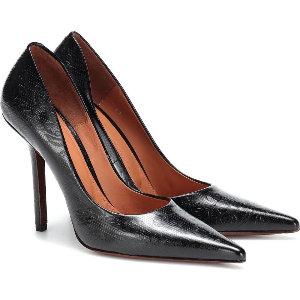 ヴェトモン Vetements レディース パンプス シューズ・靴【embossed leather pumps】black