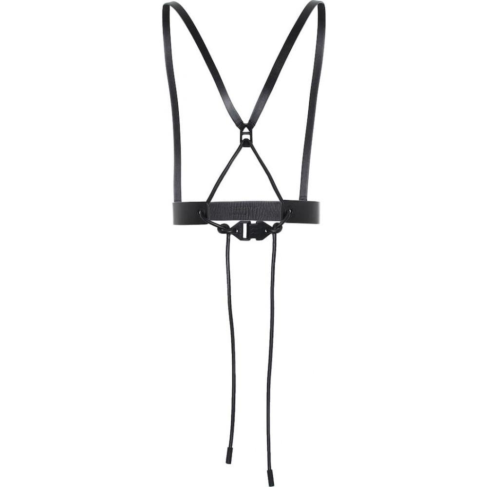 オフホワイト Off-White レディース ベルト 【leather belt】Blac no C