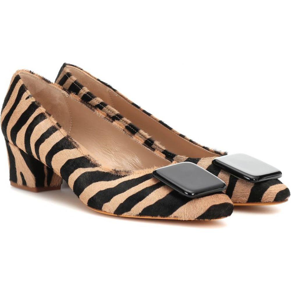 マリアム ナッシアー ザデー Maryam Nassir Zadeh レディース パンプス シューズ・靴【cecil calf hair pumps】Zebra