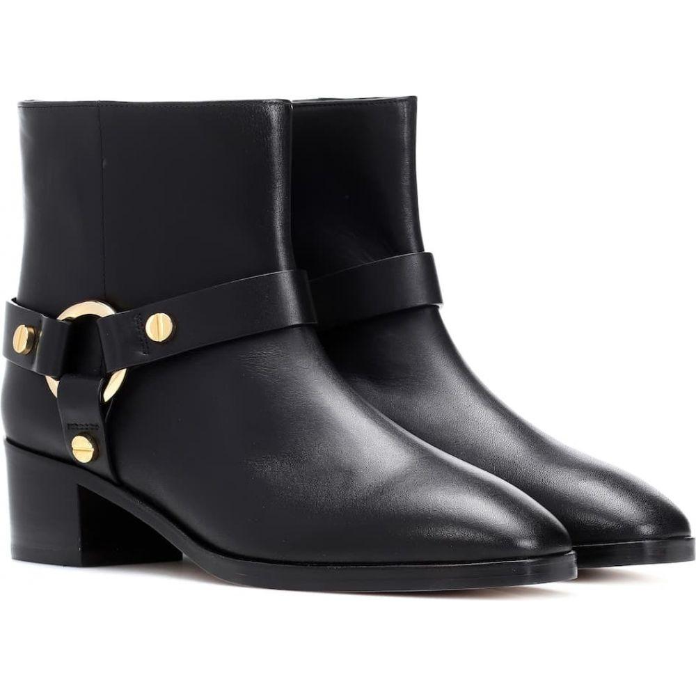 スチュアート ワイツマン Stuart Weitzman レディース ブーツ ショートブーツ シューズ・靴【expert leather ankle boots】Black