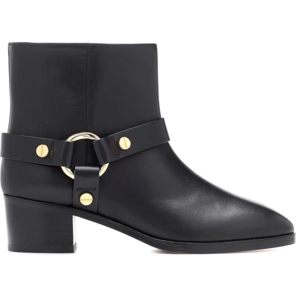 スチュアート ワイツマン Stuart Weitzman レディース ブーツ ショートブーツ シューズ・靴 expert leather ankle boots BlackCdxBore