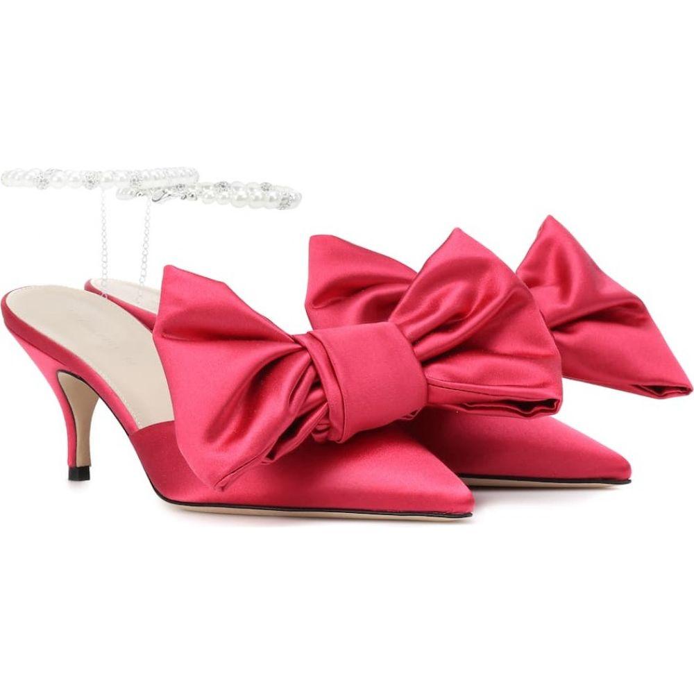マグダ ブトリム Magda Butrym レディース サンダル・ミュール シューズ・靴【satin mules】Pink