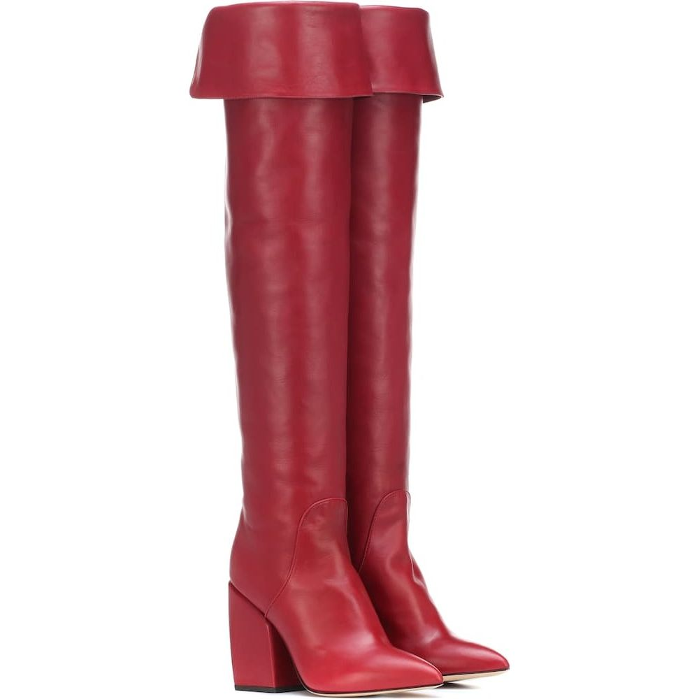 ペーター ペトロフ Petar Petrov レディース ブーツ シューズ・靴【shirin leather over-the-knee boots】rednappa
