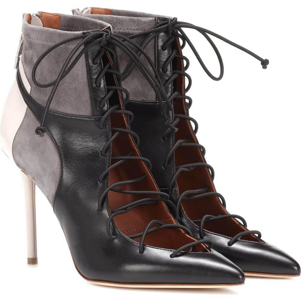 マローンスリアーズ Malone Souliers レディース ブーツ ショートブーツ シューズ・靴【montana 100 leather ankle boots】Black Grey Light Grey