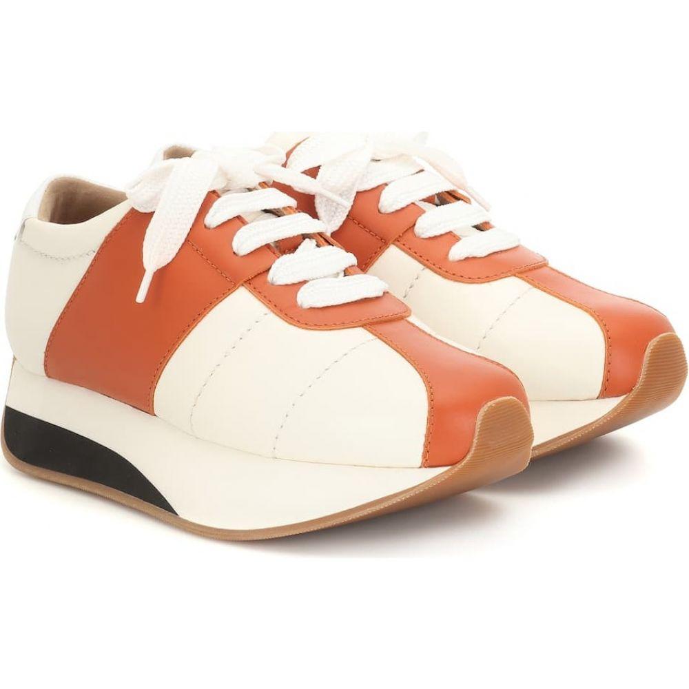 マルニ Marni レディース スニーカー シューズ・靴【big foot leather sneakers】