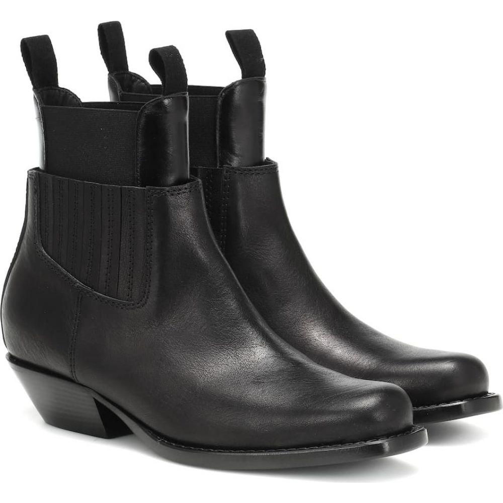 メゾン マルジェラ MM6 Maison Margiela レディース ブーツ ショートブーツ シューズ・靴【leather ankle boots】