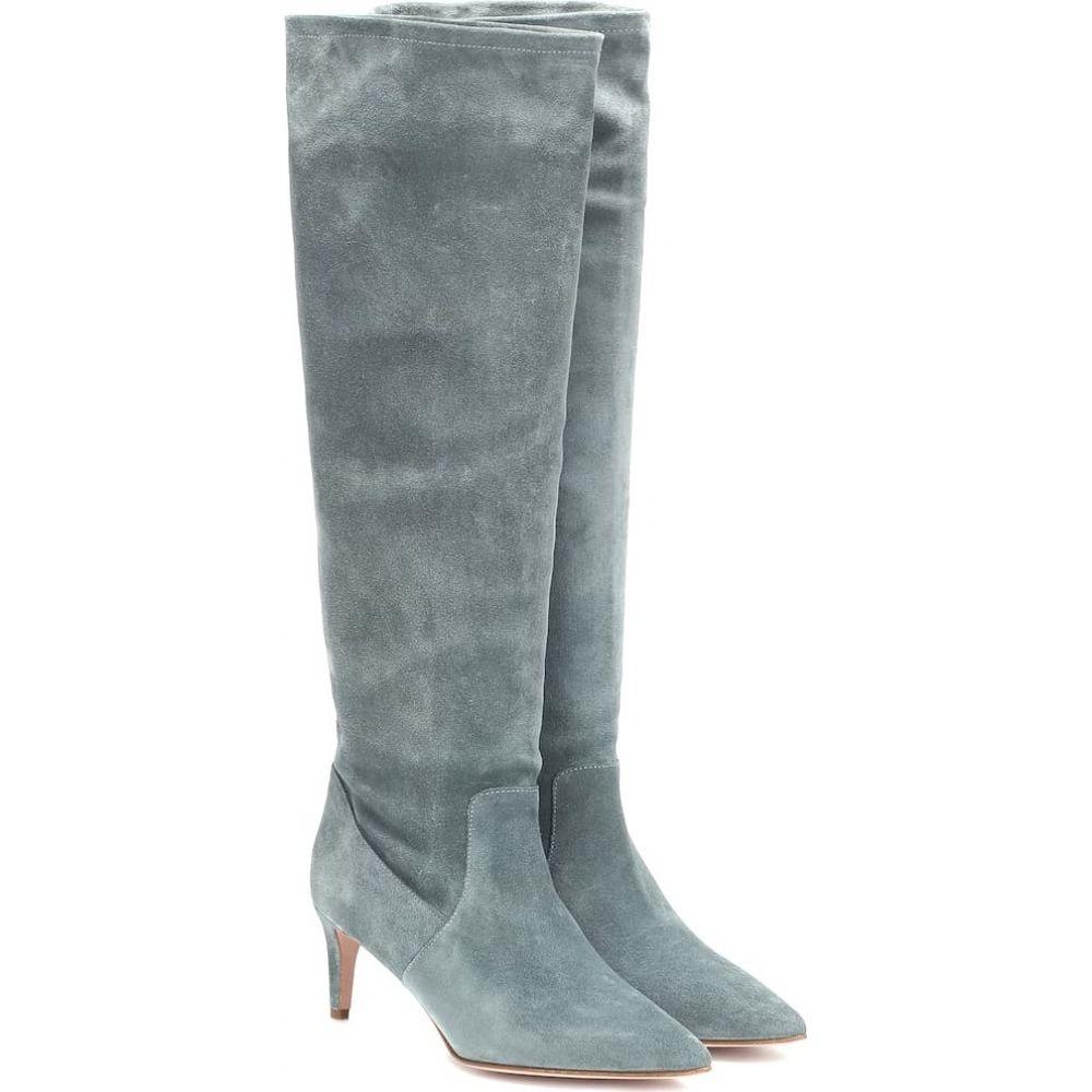 レッド ヴァレンティノ REDValentino レディース ブーツ シューズ・靴【red (v) suede knee-high boots】