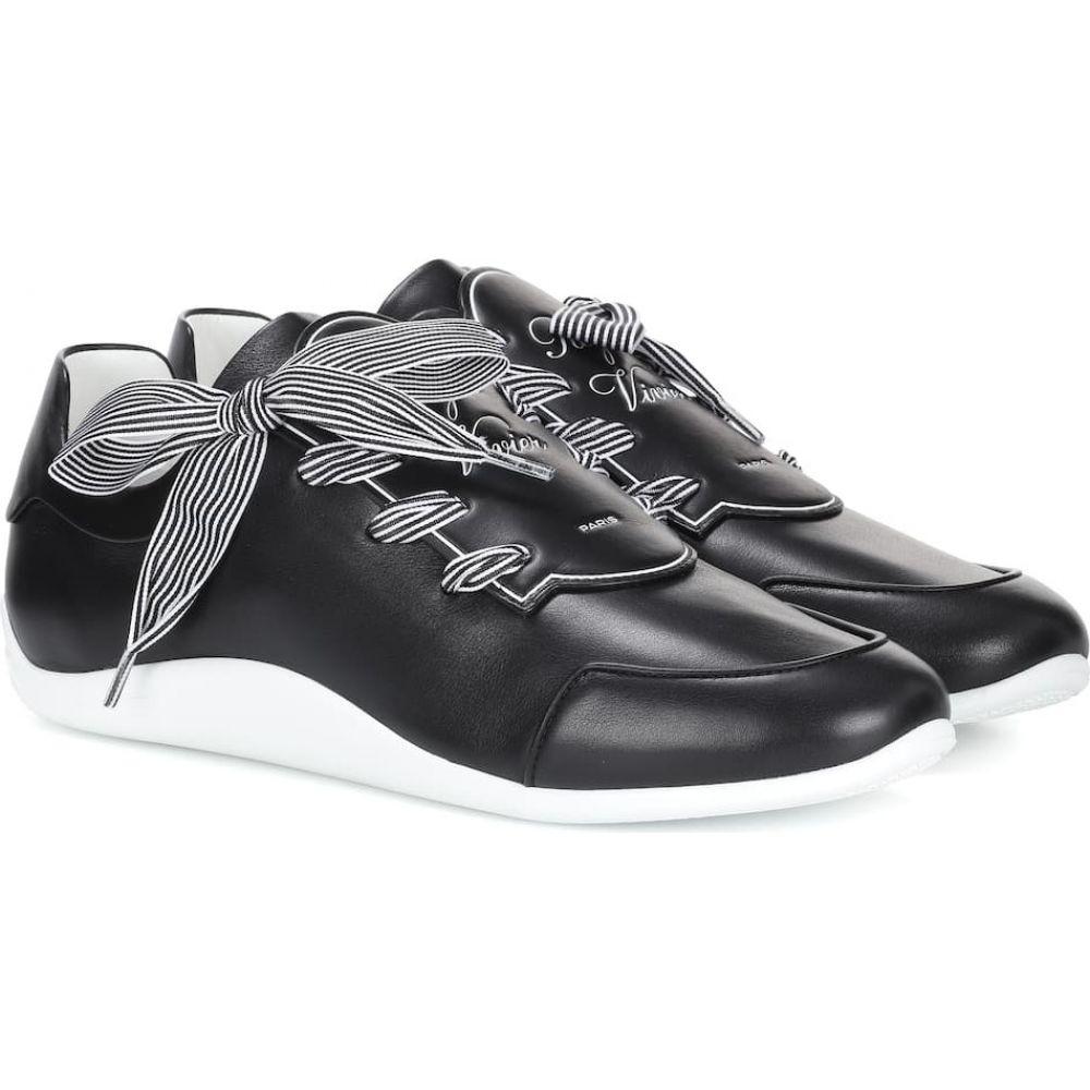 ロジェ ヴィヴィエ Roger Vivier レディース スニーカー シューズ・靴【sporty viv' etiquette sneakers】Black