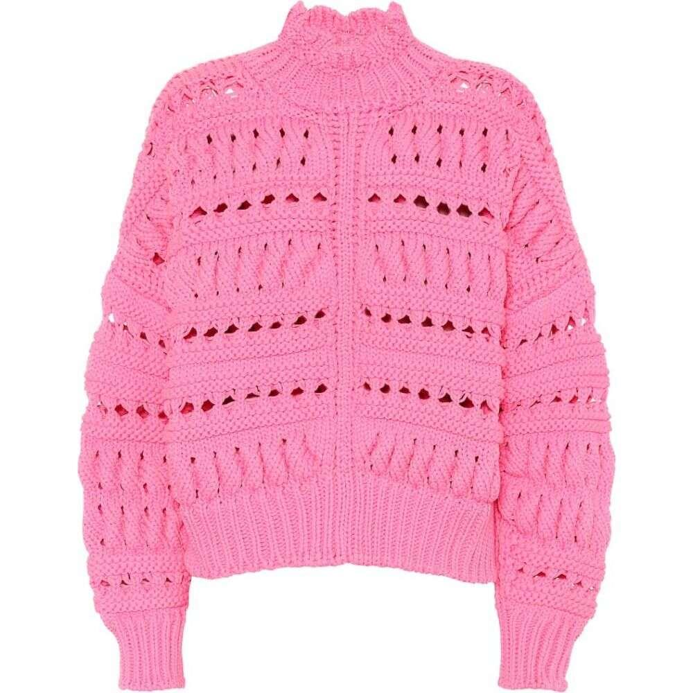 イザベル マラン Isabel Marant レディース ニット・セーター トップス【zoe cotton-blend sweater】Candy Pink