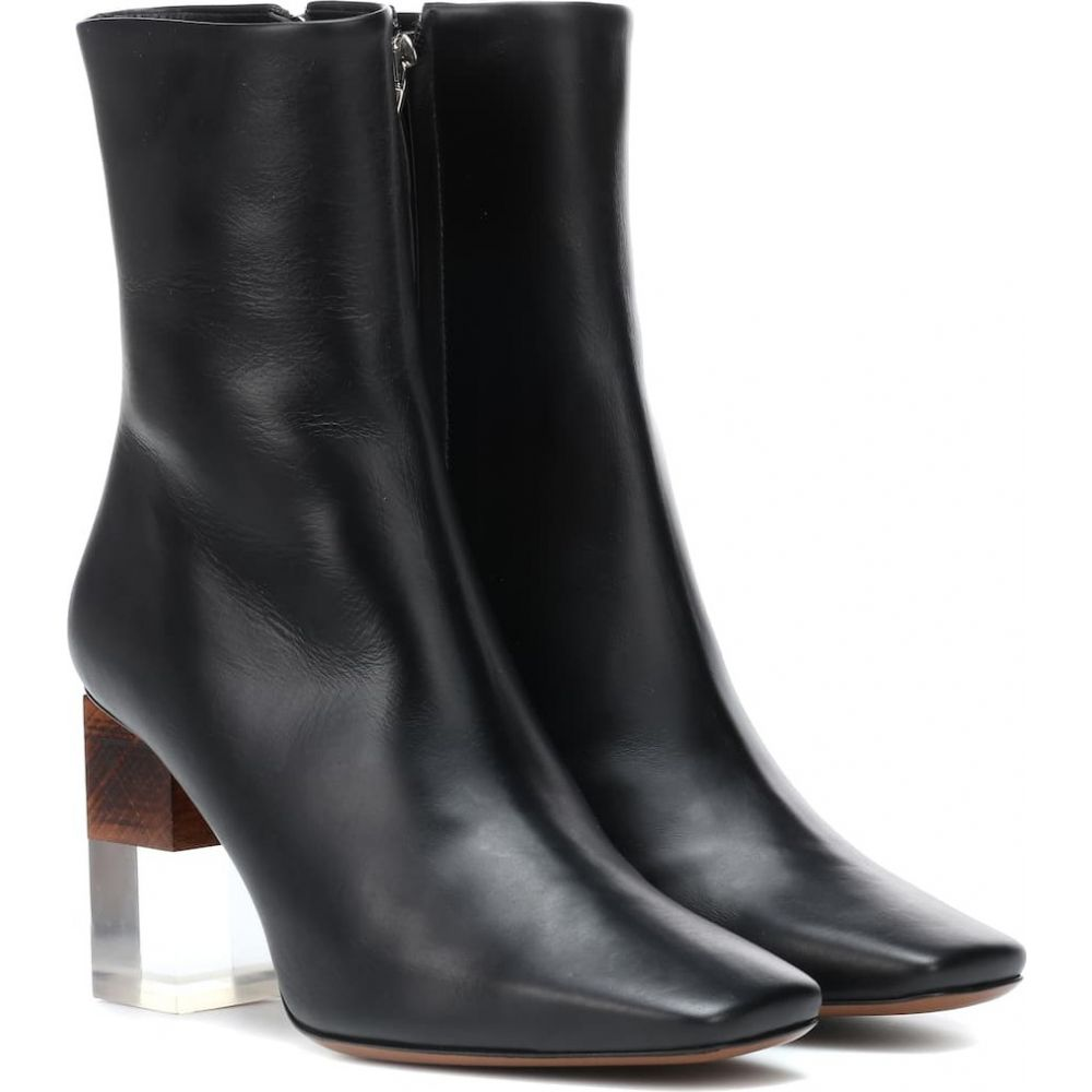 ネオアス Neous レディース ブーツ ショートブーツ シューズ・靴【hea leather ankle boots】Black