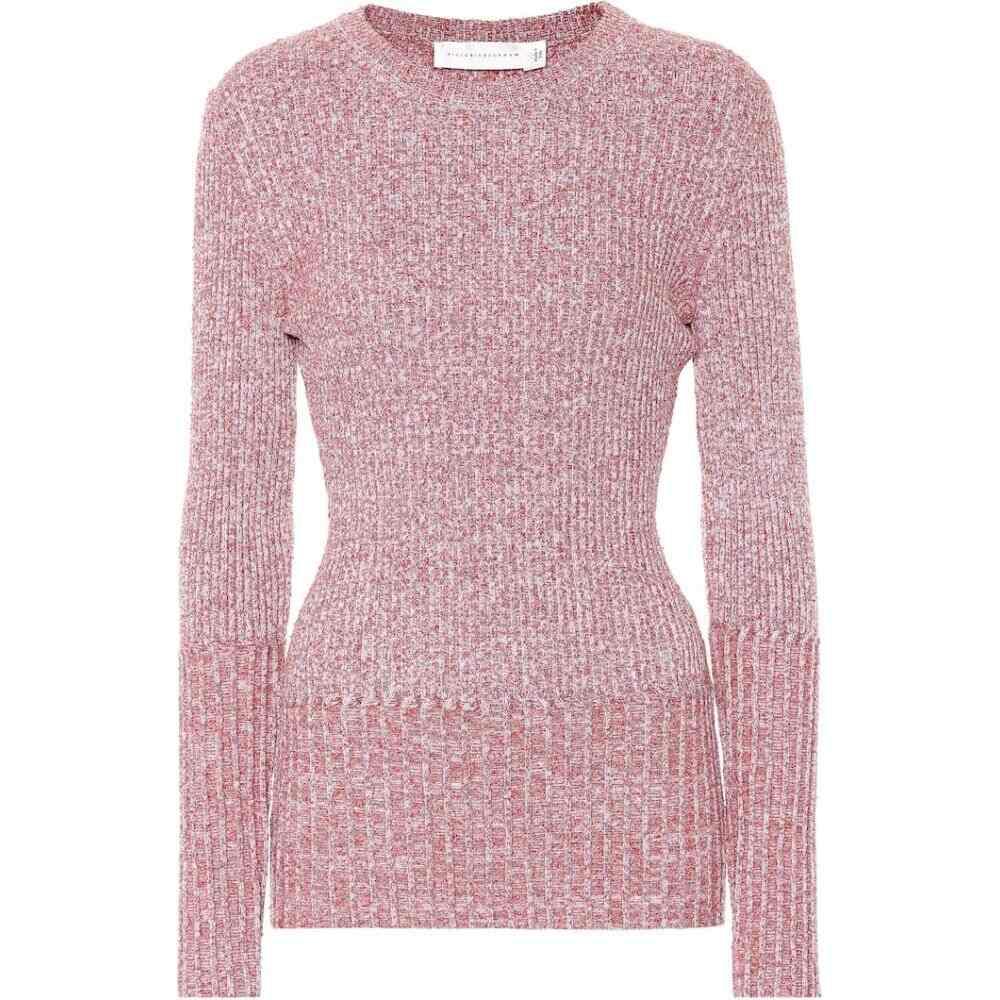 ヴィクトリア ベッカム Victoria Beckham レディース ニット・セーター トップス【ribbed wool-blend sweater】