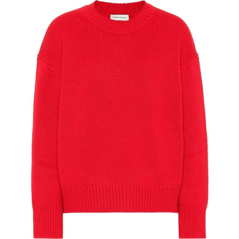 マンサーガブリエル Mansur Gavriel レディース ニット・セーター トップス【cashmere sweater】Flamma