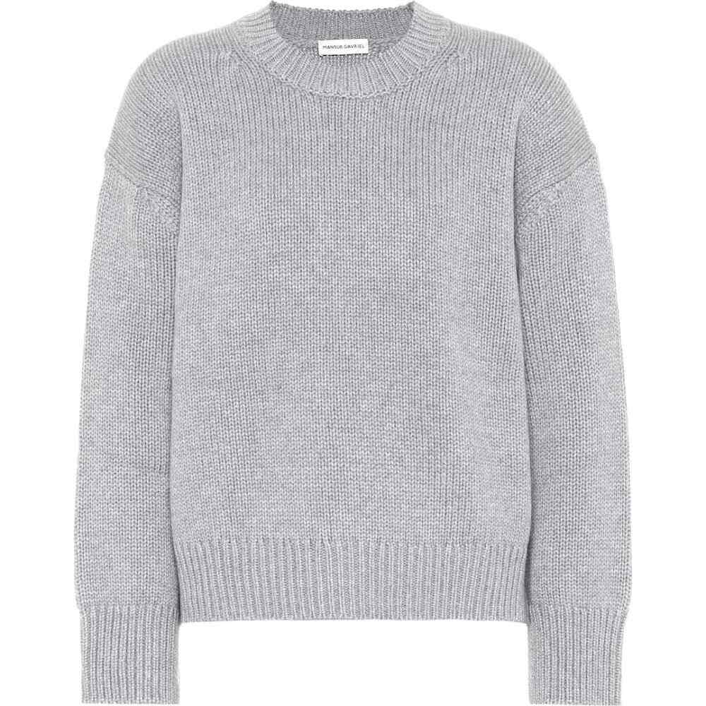マンサーガブリエル Mansur Gavriel レディース ニット・セーター トップス【cashmere sweater】Light Grey