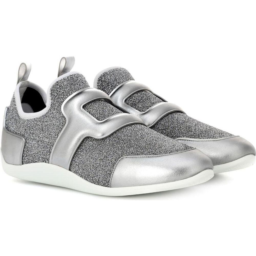 ロジェ ヴィヴィエ Roger Vivier レディース スニーカー シューズ・靴【sporty viv' metallic sneakers】Grigio Medio