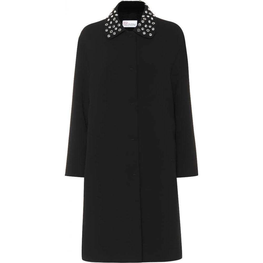 レッド ヴァレンティノ REDValentino レディース コート アウター【embellished coat】Nero