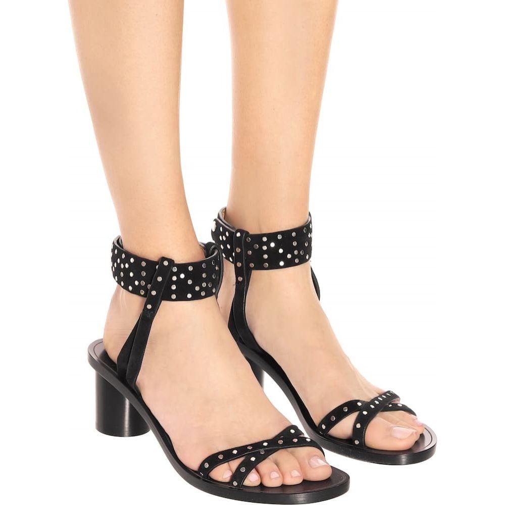 イザベル マラン Isabel Marant レディース サンダル・ミュール シューズ・靴 joakee suede sandals BlackuFJl1TKc3