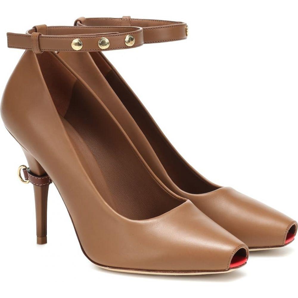 バーバリー Burberry レディース パンプス シューズ・靴【jermyn leather pumps】Amber Brown