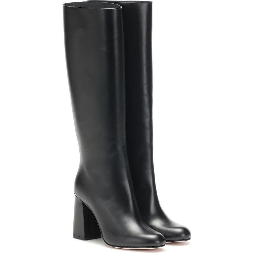 レッド ヴァレンティノ REDValentino レディース ブーツ シューズ・靴【red (v) leather knee-high boots】