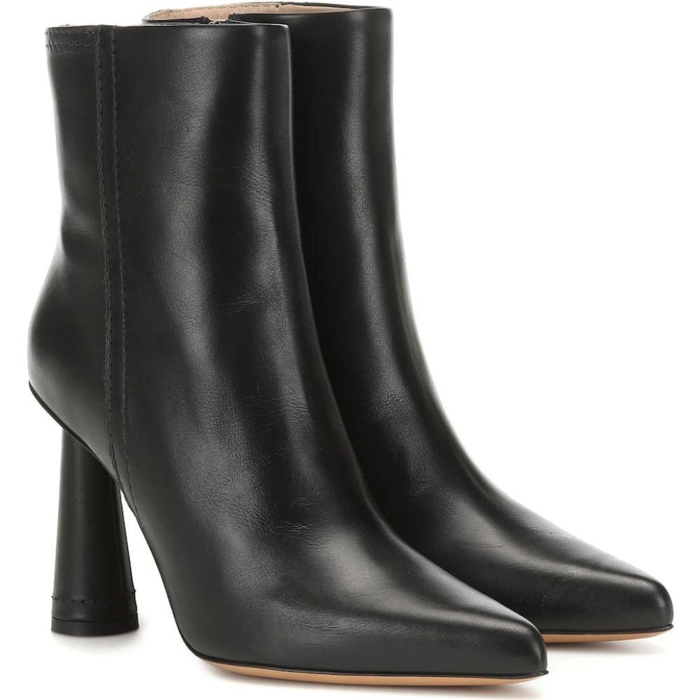 ジャックムス Jacquemus レディース ブーツ ショートブーツ シューズ・靴【les bottes toula leather ankle boots】Black
