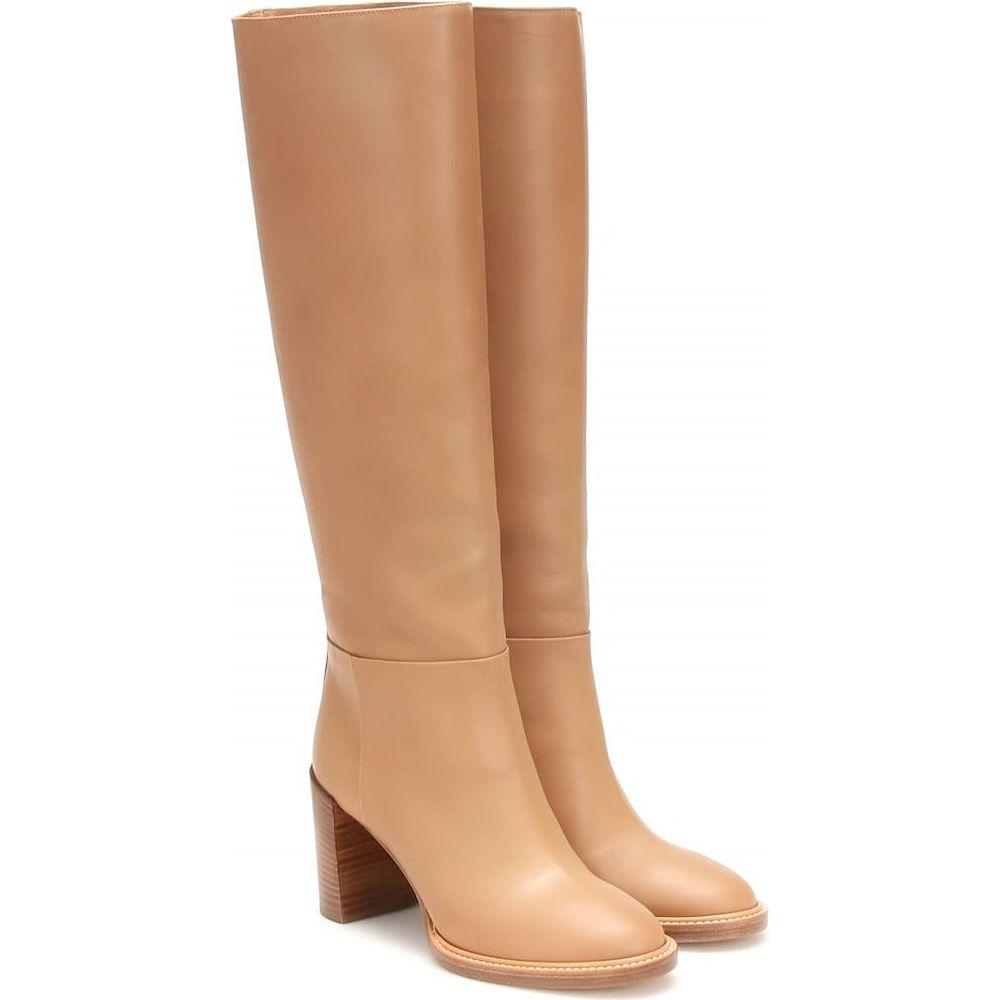 ガブリエラ ハースト Gabriela Hearst レディース ブーツ シューズ・靴【bocca leather boots】Dark Camel
