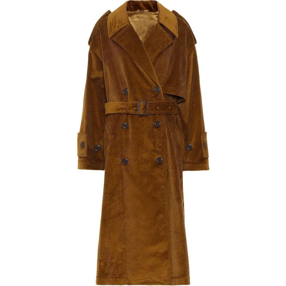 アクネ ストゥディオズ Acne Studios レディース コート アウター【belted corduroy coat】Oil Yellow