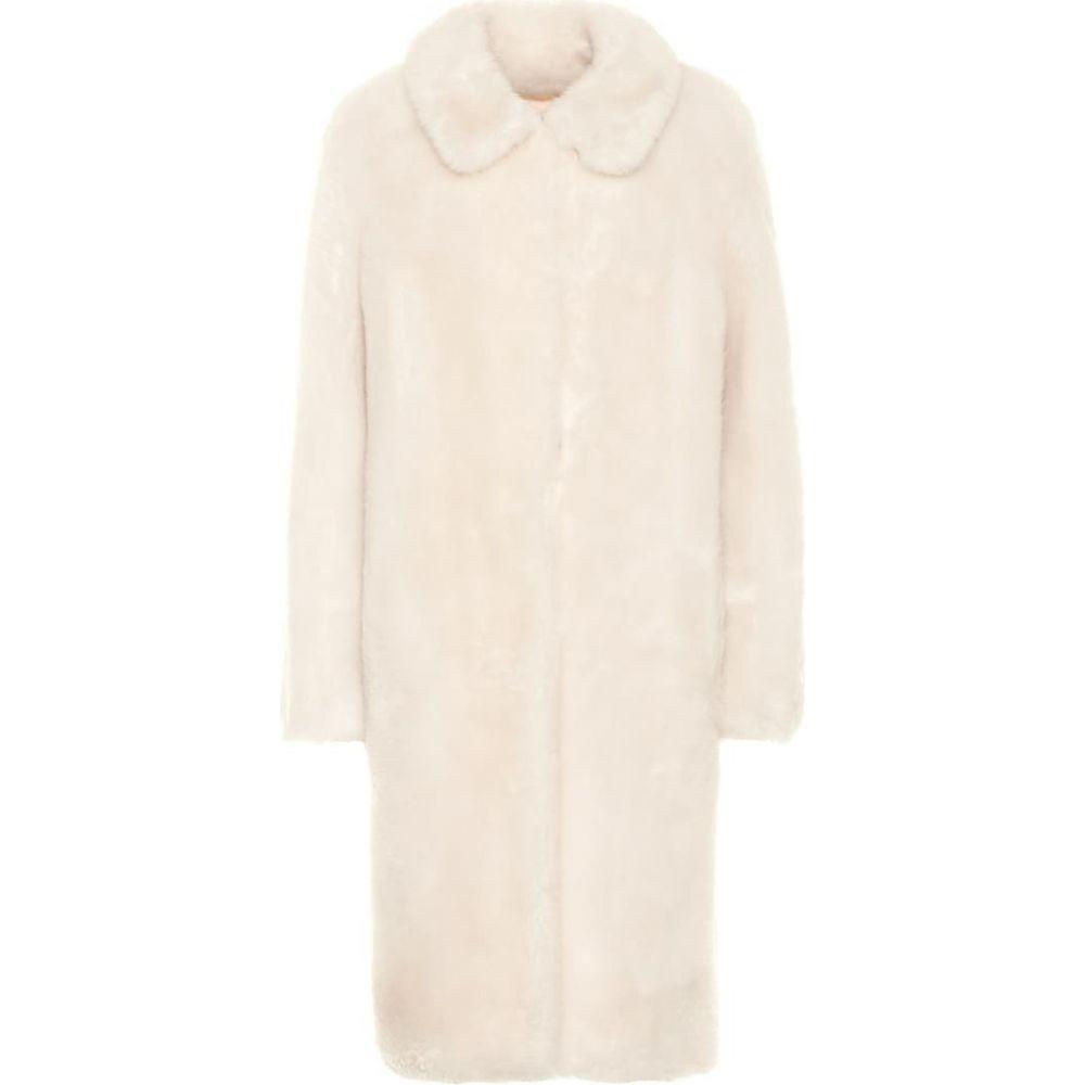 イヴ サロモン Yves Salomon レディース コート アウター【meteo wool coat】Ivoire