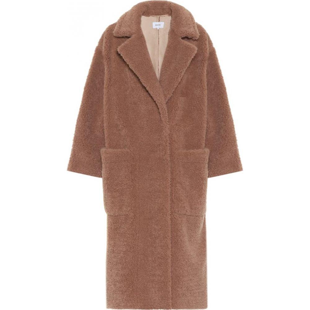 ナヌシュカ Nanushka レディース コート ファーコート アウター【imogen faux fur coat】Faded Rose