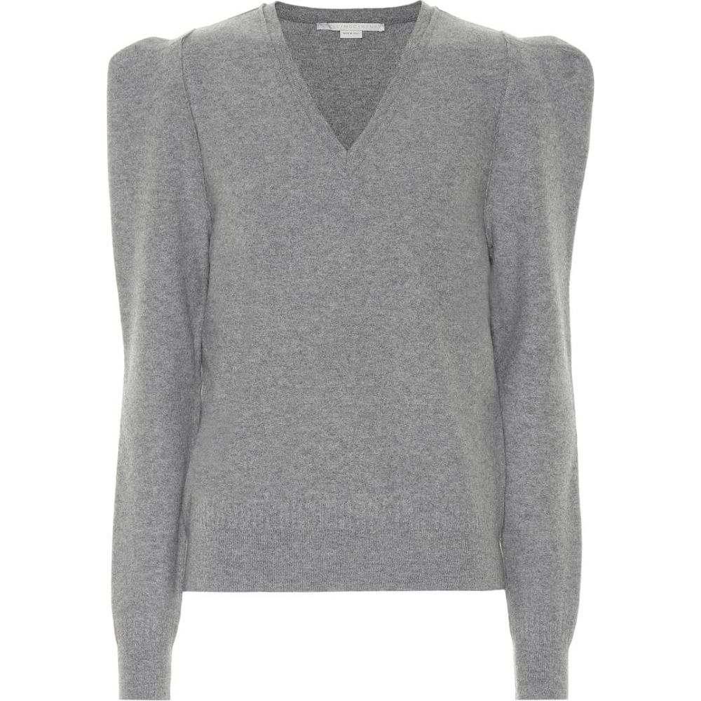 ステラ マッカートニー Stella McCartney レディース ニット・セーター トップス【wool-blend sweater】Grey Melange