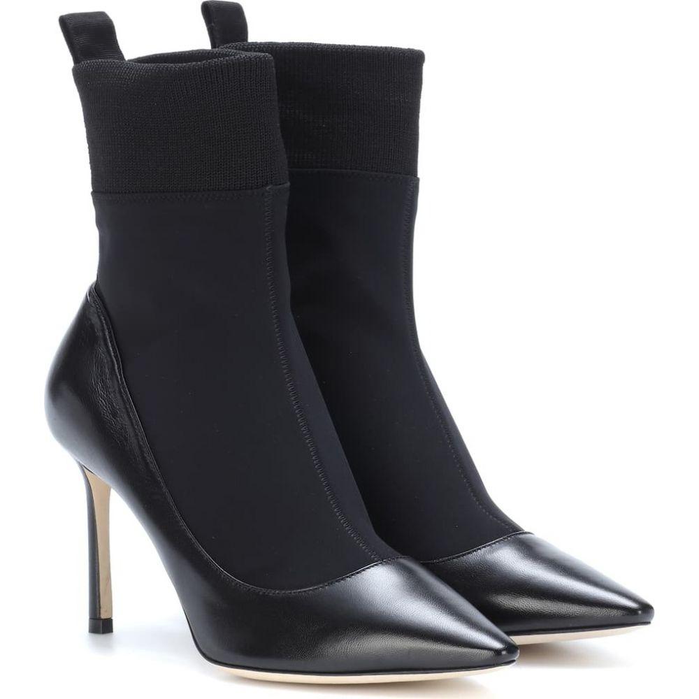 ジミー チュウ Jimmy Choo レディース ブーツ ショートブーツ シューズ・靴【brandon 85 ankle boots】Black