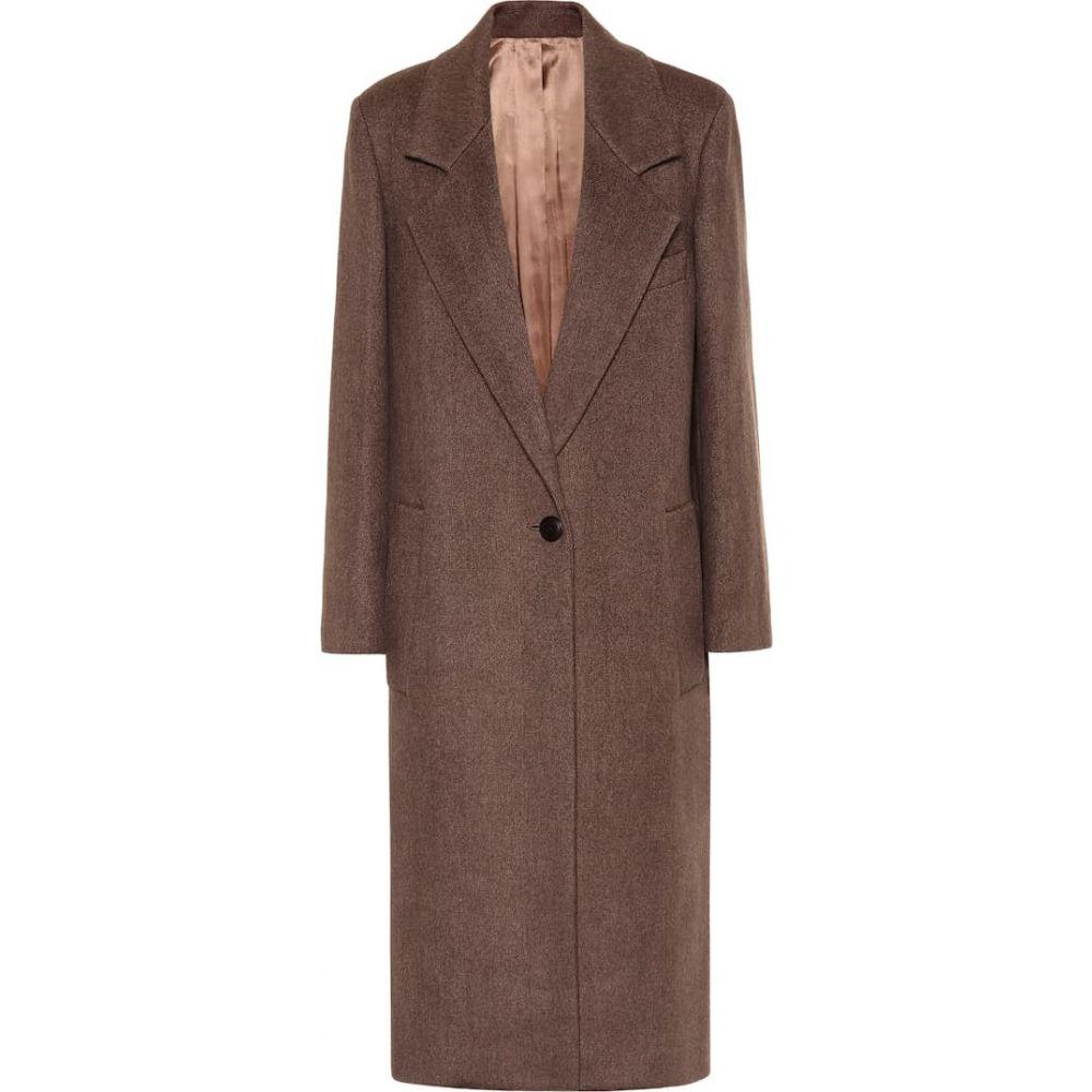 アウター【captain コート wool-blend レディース ジョゼフ coat】Tobacco Joseph