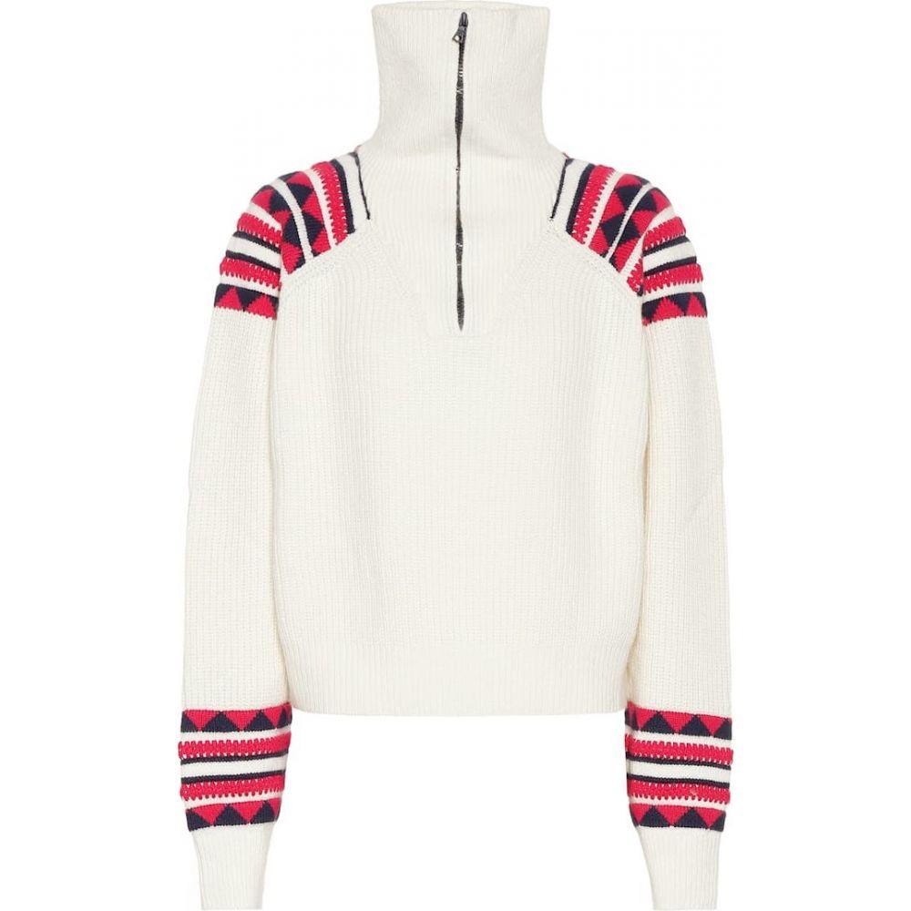 アラヌイ Alanui レディース ニット・セーター トップス【cashmere and wool sweater】Lapponia White