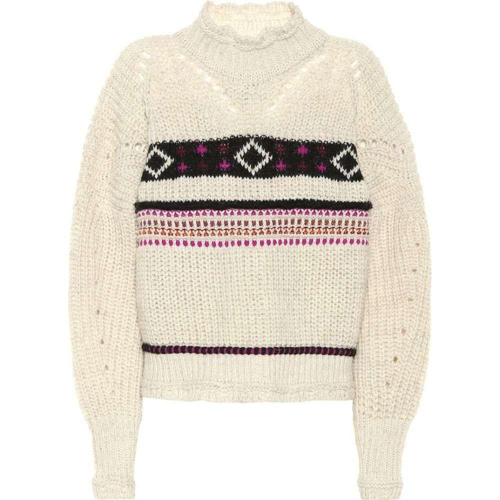 イザベル マラン Isabel Marant レディース ニット・セーター トップス【caleen wool-blend sweater】Ecru