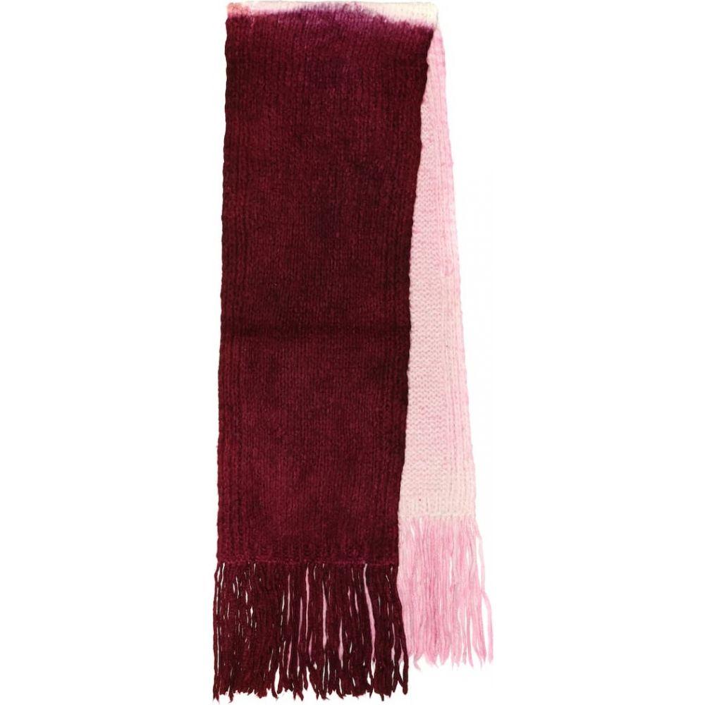 ガブリエラ ハースト Gabriela Hearst レディース マフラー・スカーフ・ストール 【cashmere scarf】Wine/Ivory/B